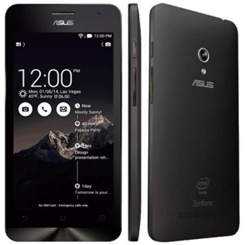 "Smartphone ZenFone 5 ASUS Preto 8GB - Intel 1.2 GHz - A501CG-2A490BRA - Câmera 8MP - Tela 5"" - Dual SIM - Android 4.3"