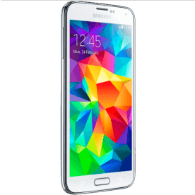 "Smartphone Samsung Galaxy S5 Branco - 16GB - Quad-Core - 4G - RAM 2GB - 16MP - Tela 5.1"" - Android 4.4"