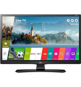 "Smart TV Monitor LG 24MT49S-PS 24"" - LED - HDMI - USB - Wi-Fi - WebOS - Conversor Digital"