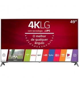 """Smart TV LG 49"""" 49UJ6565 - Ultra HD 4K - HDMI - HDR - USB - Wi-Fi - Web OS - Conversor Digital"""