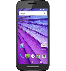 "Smartphone Motorola Moto G3 - Preto/Azul - 16GB - RAM 1GB - Quad Core - 4G - 13MP - Tela 5"" - Android 5.1"