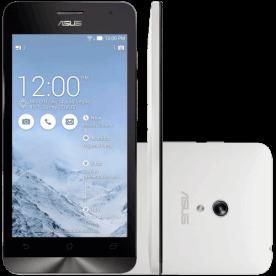 """Smartphone ZenFone 6 Asus A601CG-2B065BR Branco - 16GB - Dual SIM - RAM 2GB - Intel Atom - Tela 6"""" - Android 4.3"""