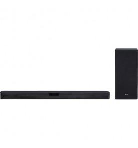 Home Theater SoundBar LG SL5Y - Preto - Bluetooth - 2.1 Canais - 400W