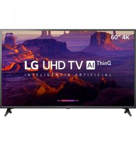 "Smart TV LED 60"" LG 60UK6200PSA - Ultra HD 4K - HDMI - USB - Wi-Fi - ThinQ AI - Conversor Digital"