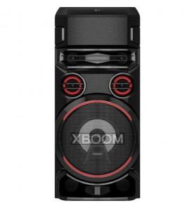 Caixa Acústica LG XBoom RN7 - Preto - Multi Bluetooth - Super Graves - Microfone - Karaokê - 1200RMS