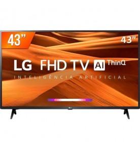 "Smart TV LED Pro LG 43"" 43LM631C0SB - Full HD - HDMI - USB - Wi-Fi - WebOS - ThinQ AI - Conversor Digital"