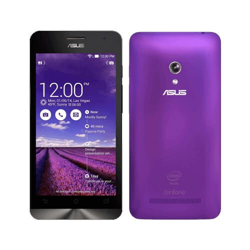 "Smartphone ZenFone 5 ASUS A501CG-1F588BRA Roxo - 16GB - RAM 2GB - Intel Atom Z2560 1.6GHz- Dual Chip - Tela 5"" - Android 4.4"
