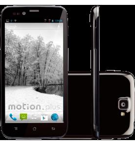 "Smartphone CCE Motion Plus SK504 - 3G - Dual Chip - Tela de 5"" - Quad Core - 8MP - Android 4.1 - Preto"
