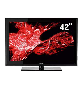 """TV CCE C420 LCD Digital - Preta - Full HD - Conversor Digital - Tela 42"""""""