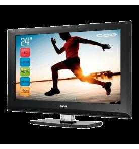 "TV CCE LCD Digital L244 - Preto - Tela 24"""