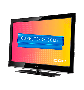 "TV CCE Stile D40 - Tela LCD 40"" - Full HD - Conversor Digital - Preta"