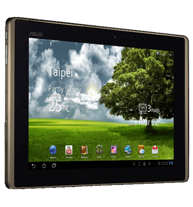 Tablet Asus TF101G-1B192A - 3G - Wi-Fi - NVIDIA Tegra 2 - 16GB - Tela LED 10.1'' – Câmera 5MP - Android 3.0