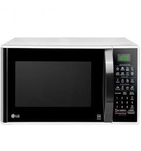 Forno Micro-Ondas LG EasyClean MS3091BCA - Branco - 30 Litros - 220V