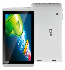 "Tablet Philco 8A-B111A4.0 - ARM Cortex A8 - 1 GB RAM - 8GB HD - Tela capacitiva 8"" - Branco"