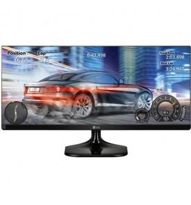 "Monitor LG 25UM58-P LED IPS 25"" - Preto - Full HD - UltraWide - HDMI"