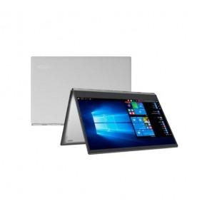 "Notebook Lenovo Yoga 520-14IKB-80YM000ABR - cor prata - Intel Core i3-7100U - RAM 4GB - HD 500GB - Tela 14"" - Windows 10"