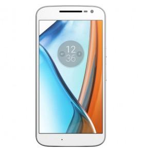 """Smartphone Motorola Moto G4 Play - Branco/Vermelho - 16GB - RAM 2GB - Quad Core - 4G - 8MP - Tela 5"""" - Android 7"""