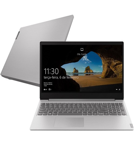"Notebook Lenovo Ideapad S145 81S9S00000 - Prata - Intel Core i7-8565U - NVidia MX110 - RAM 8GB - HD 1TB - Tela 15.6"" - Linux"