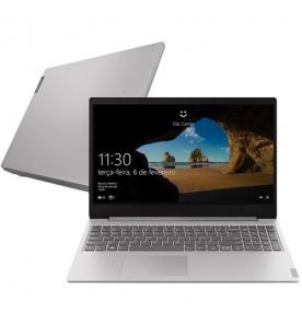 "Notebook Lenovo Ideapad S145 81S90000BR - Prata - Intel Core i7-8565U - MX110 - RAM 12GB - SSD 256GB - Tela 15.6"" - Windows 10"