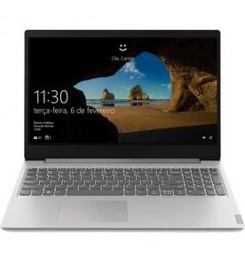 "Notebook Lenovo Ideapad S145 81WTS00000 - Prata - Intel Celeron N4000 - RAM 4GB - HD 500GB - Tela 15.6"" - Linux"