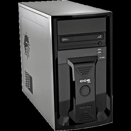 Computador Desktop CCE A220L - RAM 2GB - HD 200GB - Intel Atom D410 - Gravador de DVD - Linux