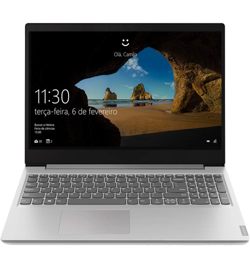 "Notebook Lenovo Ideapad S145-S145-15IWL-81S9S00300 - Prata - Intel Core i5-8265U - RAM 8GB -  HD 2TB - Tela 15.6"" - Endless OS"