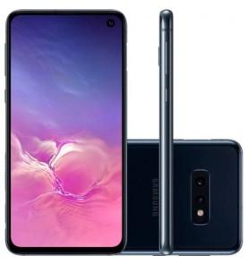 "Smartphone Samsung Galaxy S10e - Preto - 128GB - RAM 6GB - Octa Core - 4G - Câmera Dupla - Tela 5.8"" - Android 11"