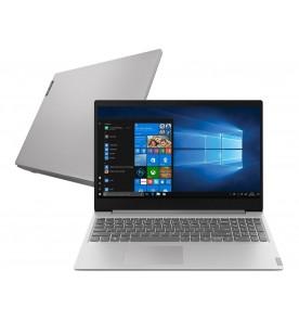 "Notebook Lenovo Ideapad S145-81S9S00100 - Prata - Intel Core i5-8265U - RAM 4GB - HD 1TB - Tela 15.6"" - Linux"