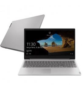 "Notebook Lenovo Ideapad S145 81S90006BR - Prata - Intel Core i5-8265U - RAM 4GB - HD 1TB - Tela 15.6"" - Windows 10"