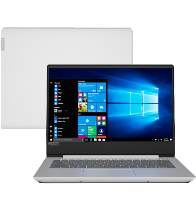 "Notebook Lenovo B330S-81JU0003BR - Prata - Intel Core i5-8250U - RAM 4GB - SSD 128GB - Tela 14"" - Windows 10"