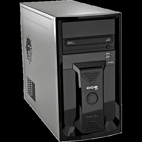 Computador Desktop CCE P350L - RAM 3GB - HD 500GB - Intel Pentium Dual Core E5800 - Gravador de DVD - Linux
