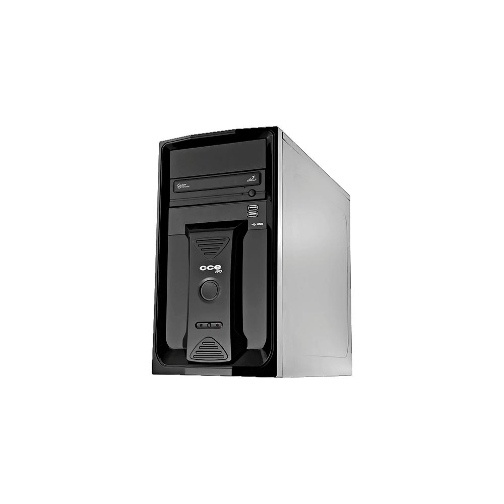 Computador Desktop CCE A225L - RAM 2GB - HD 250GB - Intel Atom - Gravador de DVD - Linux