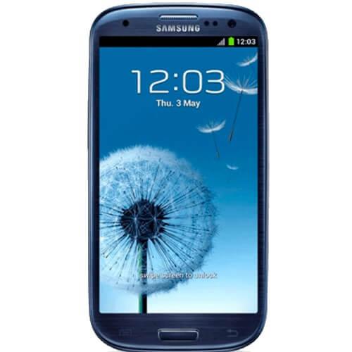 "Smartphone Samsung Galaxy S3 Azul - 3G - RAM 1GB - 16GB - 4.8"" - 8MP - Android 4.0 - Desbloqueado"