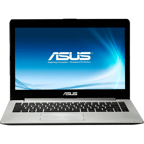 "Ultrabook Asus Vivobook S400CA-CA179H - Intel Core i5-3317U - RAM 4GB - HD 500GB - SSD 24GB - LED 14"" Touchscreen - Windows 8"