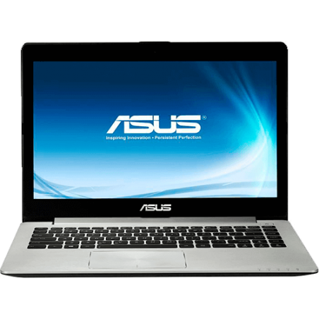 "Ultrabook Asus Vivobook S400CA-CA179H - Intel Core i5-3317U - RAM 4GB - HD 500GB - SSD 24GB - LED 14"" Touchscreen - Windows 8"