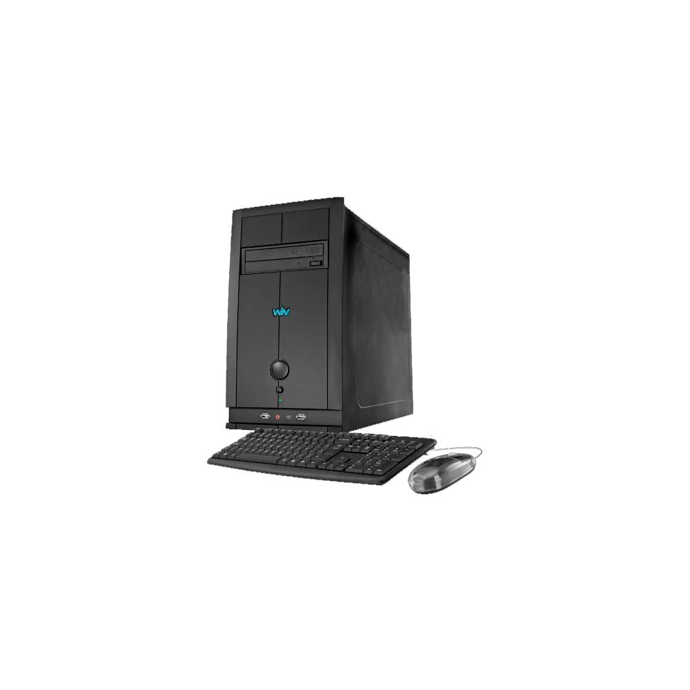 Computador Desktop CCE P45L - RAM 4GB - HD 500GB - Intel Pentium G620 Dual Core - Gravador de DVD - Linux