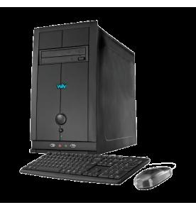 Computador Desktop CCE C43 - Intel Celeron 847 - RAM 4GB - HD 320GB - Gravador de DVD - Windows 8