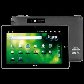"Tablet Breeze MW0821 BR8 AOC - ARM Cortex A8 - 8GB - Tela 8"" - Android 2.3"