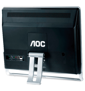 "Computador AOC EVO 9223PBD - AMD Athlon NEO X2 L325 - RAM 2GB - HD 320GB - Tela LCD 18,5"" - Windows 7 Profissional"
