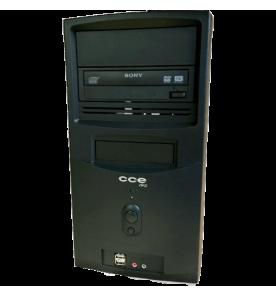 Computador Desktop CCE S3L-432 - Intel Core i3-560 - RAM 4GB - HD 320GB - Gravador de DVD - Linux