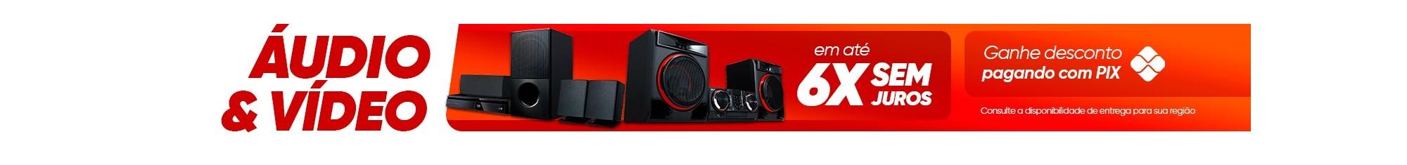 Áudio e Vídeo em promoção