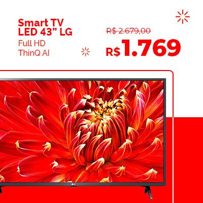 Smart TV LED em promoção