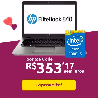 Notebook HP em promoção