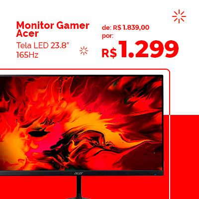 Monitor Gamer Acer em promoção