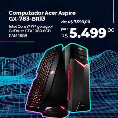 Computador gamer em promoção